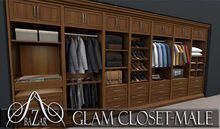 ~BAZAR~Glam-Closet MALE Full Pack