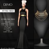 Asteria Full Perm - Merinillo Gown With Necklaces - DEMO