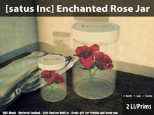 [satus Inc] Enchanted Rose Jar