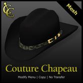 CC Houston Cowboy Hat: Felt {Black}