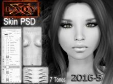 Lady-X-2016-5-Skin PSD -DEMO
