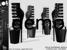 Bens Boutique - Yeliz Extreme Heels Demo