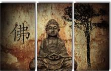 Buddha - Panel Wall Art  - Boxed
