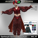 AB Djelibeybi Djinn with Color HUD