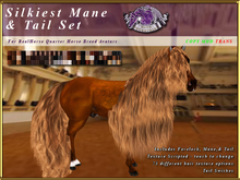 *E* RealHorse Silkiest Mane & Tail Set [BOXED] RHQH