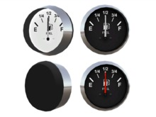 Full Perm Scripted Mesh Fuel Gauge 0.5li (Instrument - Indicator - Marker) with Example Fuel System Script