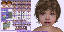 ND/MD Cuties (Sasha tan) full mesh toddler Avatar + HUDs