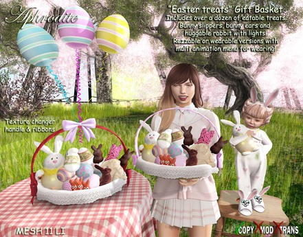 "Aphrodite ""Easter treats"" gift basket"