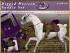 *E* RealHorse Rigged Western Saddle Set [BOXED]  RHAB