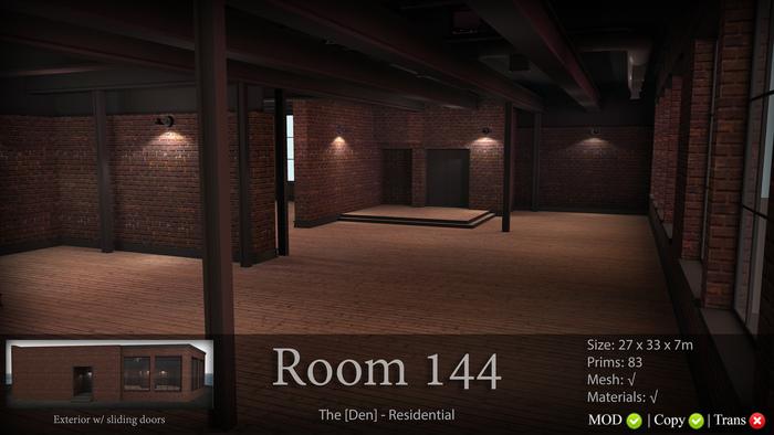 Room 144 - The [Den.] Residential 50% SALE