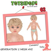 TOTSIPOP! Generation 2 Baby Avatar Set V1(.27)