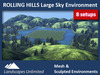 ROLLING HILLS Large Skybox Environment 5.2