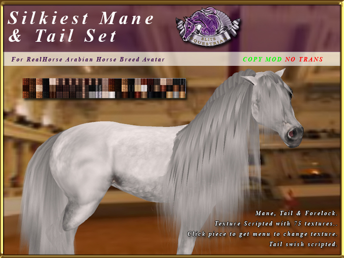 *E* RealHorse Silkiest Mane & Tail Set [BOXED] RHAB