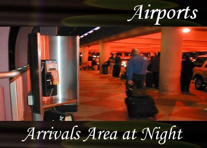 Atmo-Airport - Arrivals Crowd at Night 1:00