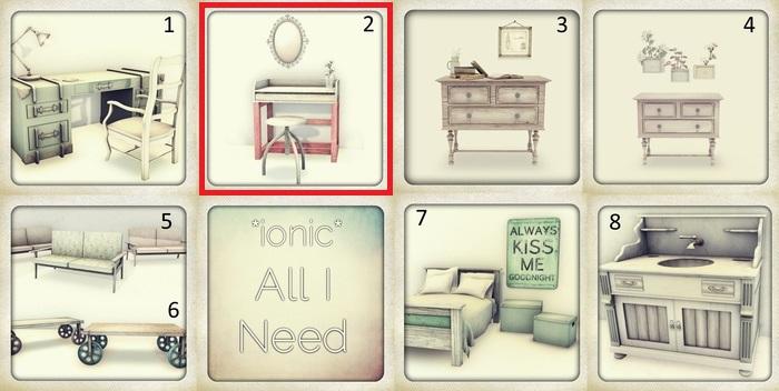 *ionic* minidesk (table)