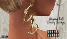 ~GD~Gorgeous Doll - Chunky Earrings
