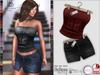 Deniz strapless   skirt1