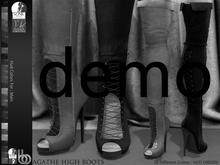 Bens Boutique - Agathe High Boots Demo (Slink High - Physque)