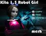 Kita 1.5 Robot Girl