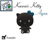 ~FP@ws! Kawaii Kitty Aqua