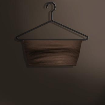 Naive. Omega Applier - Liliana Bandeau Top - Brown