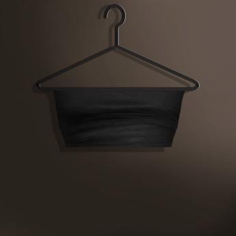 Naive. Omega Applier - Liliana Bandeau Top - Black