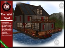"""CM Creations, Houseboat """"The Wet Spot"""""""