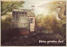 {vespertine}haru garden sheds