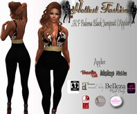:H.F Paloma Black Jumpsuit (Applier)
