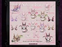 14. darkendStare. Sakura Tea Dragon [Perch] RARE