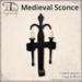 [DDD] Medieval Sconce