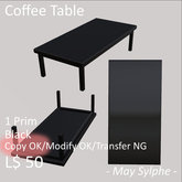 - May Sylphe - Coffee Table Black