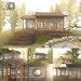 8f8 - serene sanctuary - Koi House (FULL SET)