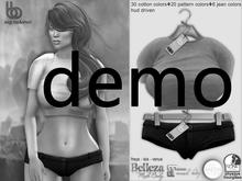 Bens Boutique - Ezgi Mini Top & Short - Hud Driven Demo