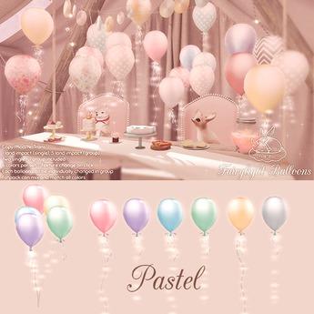 +Half-Deer+ Fairylight Balloons [Pastel Set]