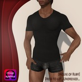 [House of Ruby] Marble T-Shirt for Him - Slate