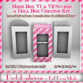 Prefab-ulicious Full Perm Mesh Product & Doll Box Creator Kit