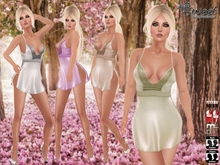 Sweet Temptations :: Divine FitMesh Outfit (Maitreya / Slink(P, H) / Classic) * 12 Color HUD