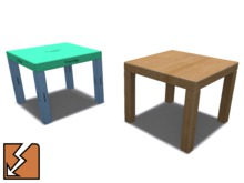 Basic Mesh Coffee Table 1.0