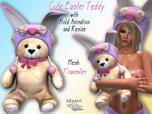 Cute Easter Teddy * SPECIAL PRICE Happy Easter Promo *
