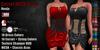 GAS [Corset MESH Dress Ronja - 18x18x18 Colors with HUD]