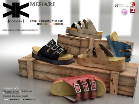 Mehari :: Shoes :: 10 Colors :: {kokoia}