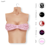 Gawk! Rose Lace Bandeau Top incl. Appliers for #TheMeshProject, Maitreya Lara, Slink Physique & Omega System