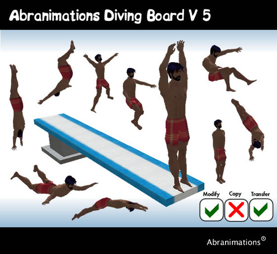 Abranimations Animated Diving Board