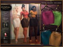 [Cynful] Dapper Skirt - Fatpack [Maitreya Lara, Belleza (Isis, Freya + Venus), Slink (Physique + Hourglass)]