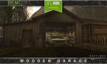 REMODEL: Old Wooden Garages [BOXED]