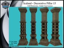 Icaland - Decorative Pillar 15