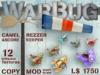 Camel / Biplane Warbug Rezzer / Windsock
