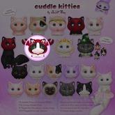 Sweet Thing. Cuddle Kitties - Plopped (Lobster)