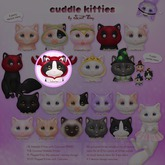 GACHA SPARES: Sweet Thing - Cuddle Kitties - Lobster Hold RARE